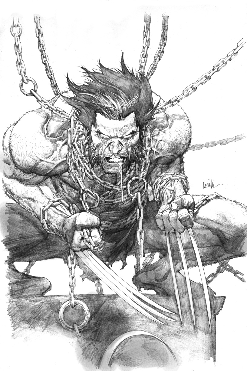 Fashion And Action Wolverine Art By Leinil Francis Yu