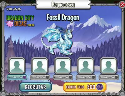 Ganhe o Dragão Fóssil!