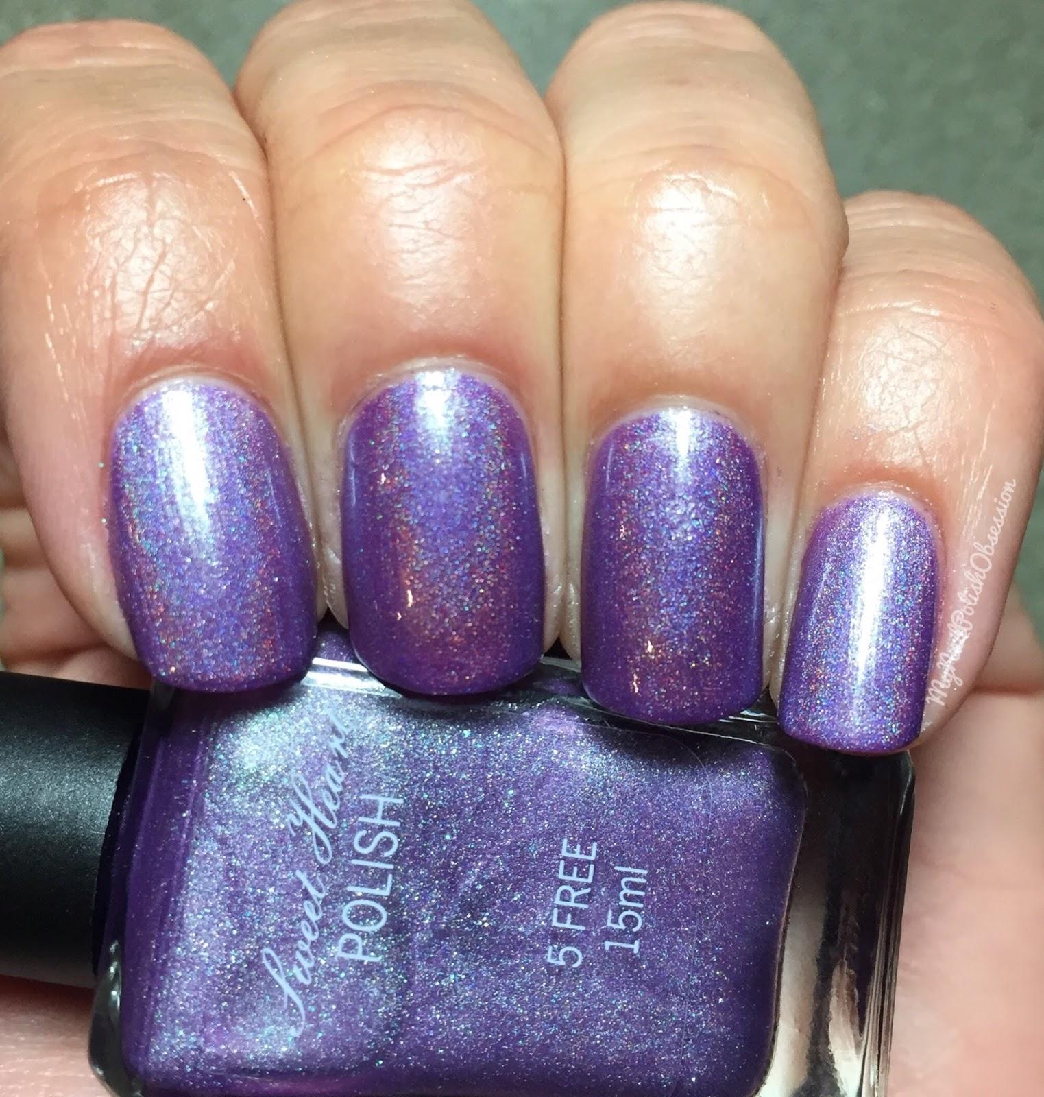 Rapunzel Nails: My Nail Polish Obsession: Sweet Heart Polish Rapunzel Trio
