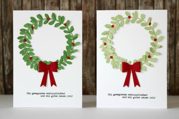 DIY Weihnachtskarten | mit Felicity Jane Cutfile