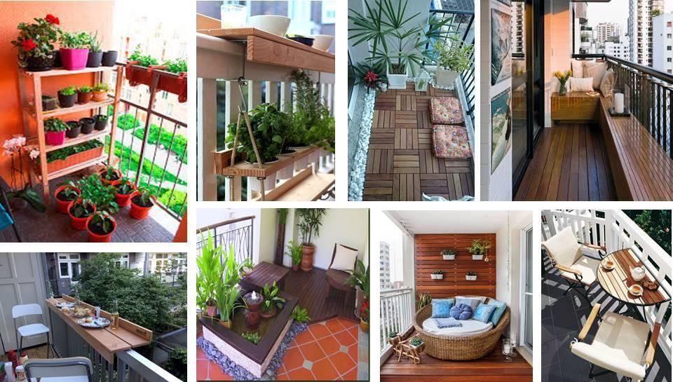 15 Amazing Decorating Ideas For Small Balcony