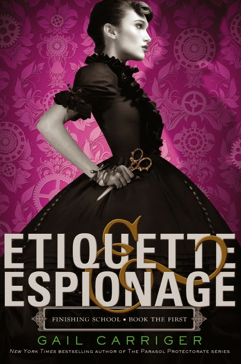 Etiquette and Espionage by Gail Carriger book cover