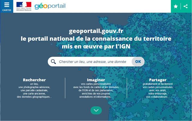 https://www.geoportail.gouv.fr/