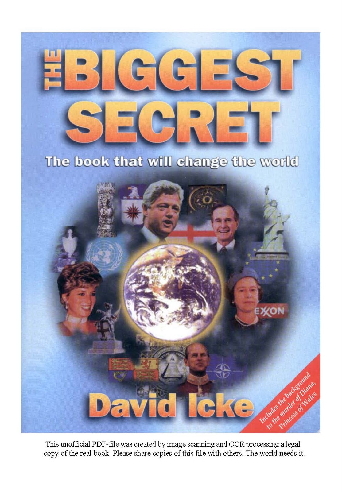 The biggest secret the book that will change the world.