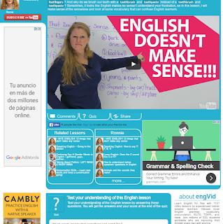 FREE ENGLISH VIDEO LESSON
