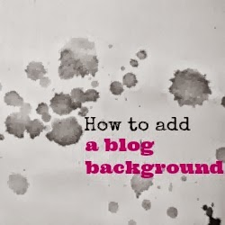 how to add a background to a blog - silvermoss