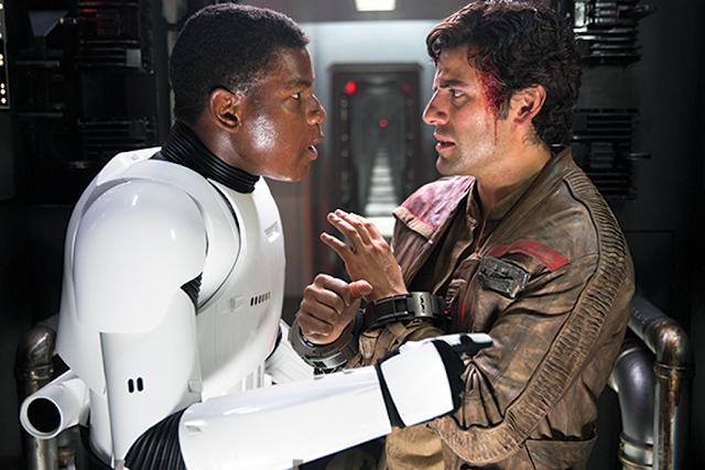 Star Wars The Force Awakens: Finn şi Poe