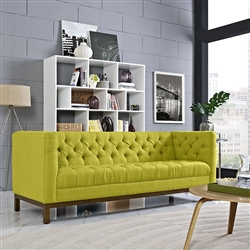 Tufted Fabric Sofa