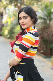 Adha Sharma in a Cute Colorful Jumpsuit Styled By Manasi Aggarwal Promoting movie Commando 2 (57).JPG