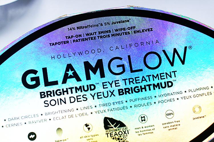 impressions  glamglows brightmud eye treatment  makeup maven  beauty blog