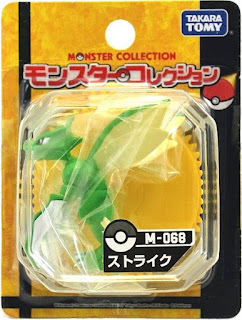 Scyther figure Takara Tomy Monster Collection M series