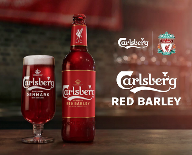 Carlsberg Red Barley SPECIAL FOR LIVERPOOL FC fans