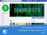 Menjadikan Facebook Sebagai Tempat Mencari Ilmu
