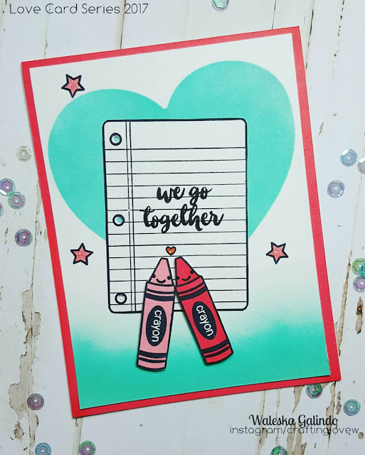 Sunny Studio Stamps: School Time and Mug Hugs We Go Together card by Waleska Galindo