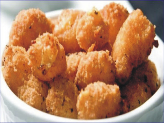 Fried Semolina
