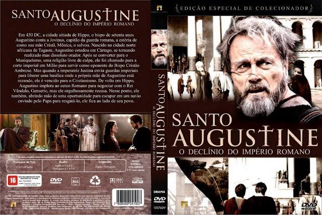 Capa DVD Santo Augustine O Declínio Do Império Romano