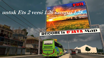 Map Djava For Ets 2 V 1.30 Ke atas