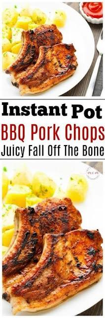 Instant Pot BBQ Pork Chops Recipe