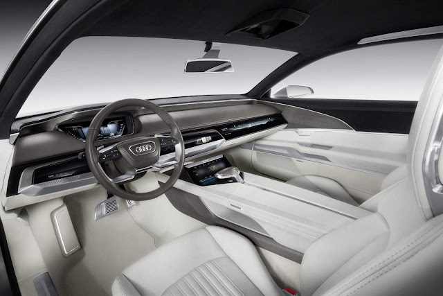 Audi Prolongue - Audi A8 B5 - interior
