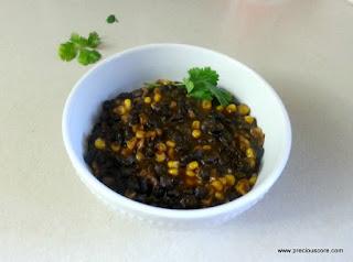 corn chaff recipe
