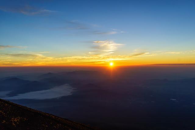 富士山・御来光