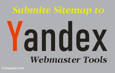 Contoh gambar ilustrasi yandex webmaster tools