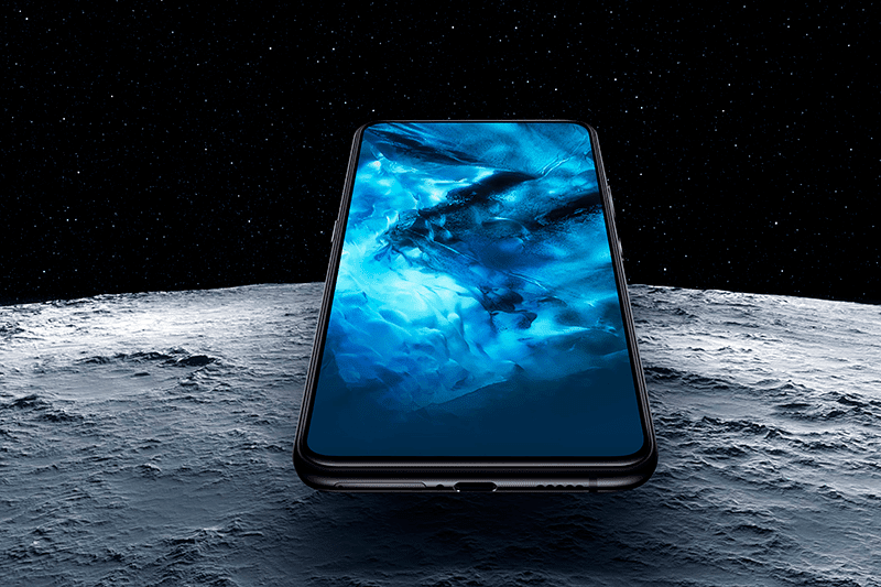 Vivo Nex with the notchless FullView display