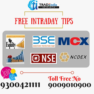 free intraday tips, Equity tips, Live commodity tips