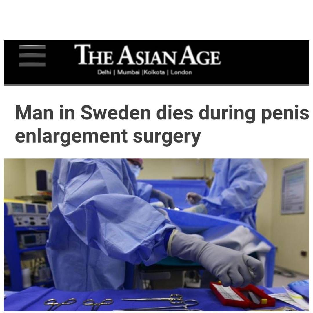Penis enlargement blog stockholm