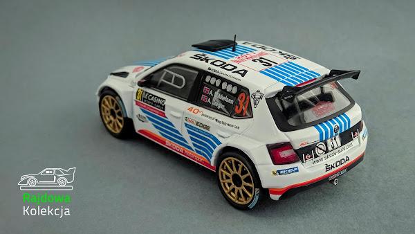 Altaya Skoda Fabia R5, Winner Rally Monte Carlo 2017 in WRC-2