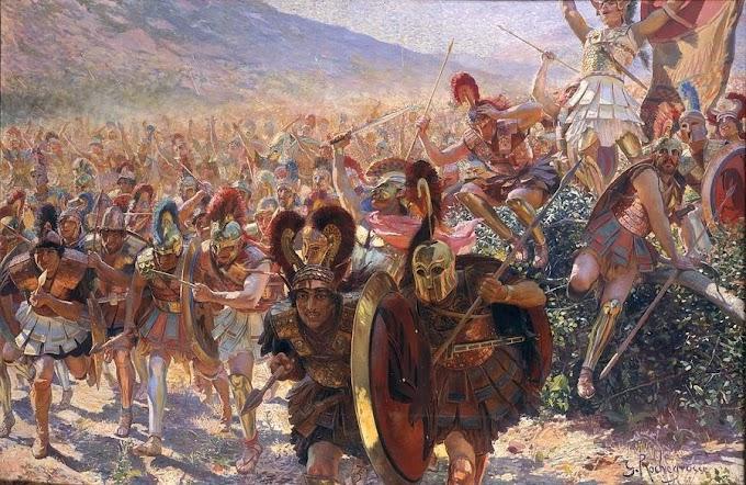 Περίφημοι στρατοί και τάγματα του αρχαίου κόσμου στις περιοχές των Ελλήνων