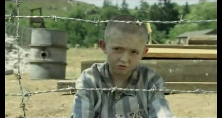 What happened to the boy in the striped pyjamas?