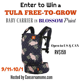Win a Tula Free-to-Grow Ergonomic Carrier - Found Frolicking
