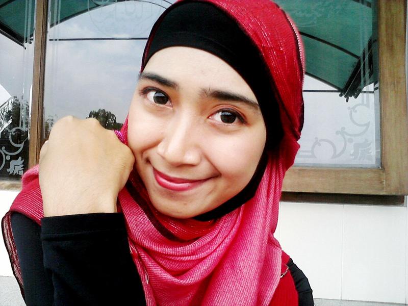 Selfie cantik Githa Algian Yusnia Putri