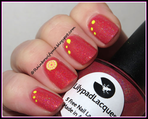 Lilypad Lacquer ~ Chip of the old Hollyhock