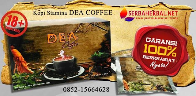Kopi Stamina Terbaik Dea Coffee | Khasiat Nyata & Mantab !