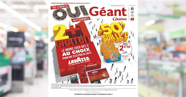 Catalogue Géant Casino Du 25 Septembre Au 7 Octobre 2018