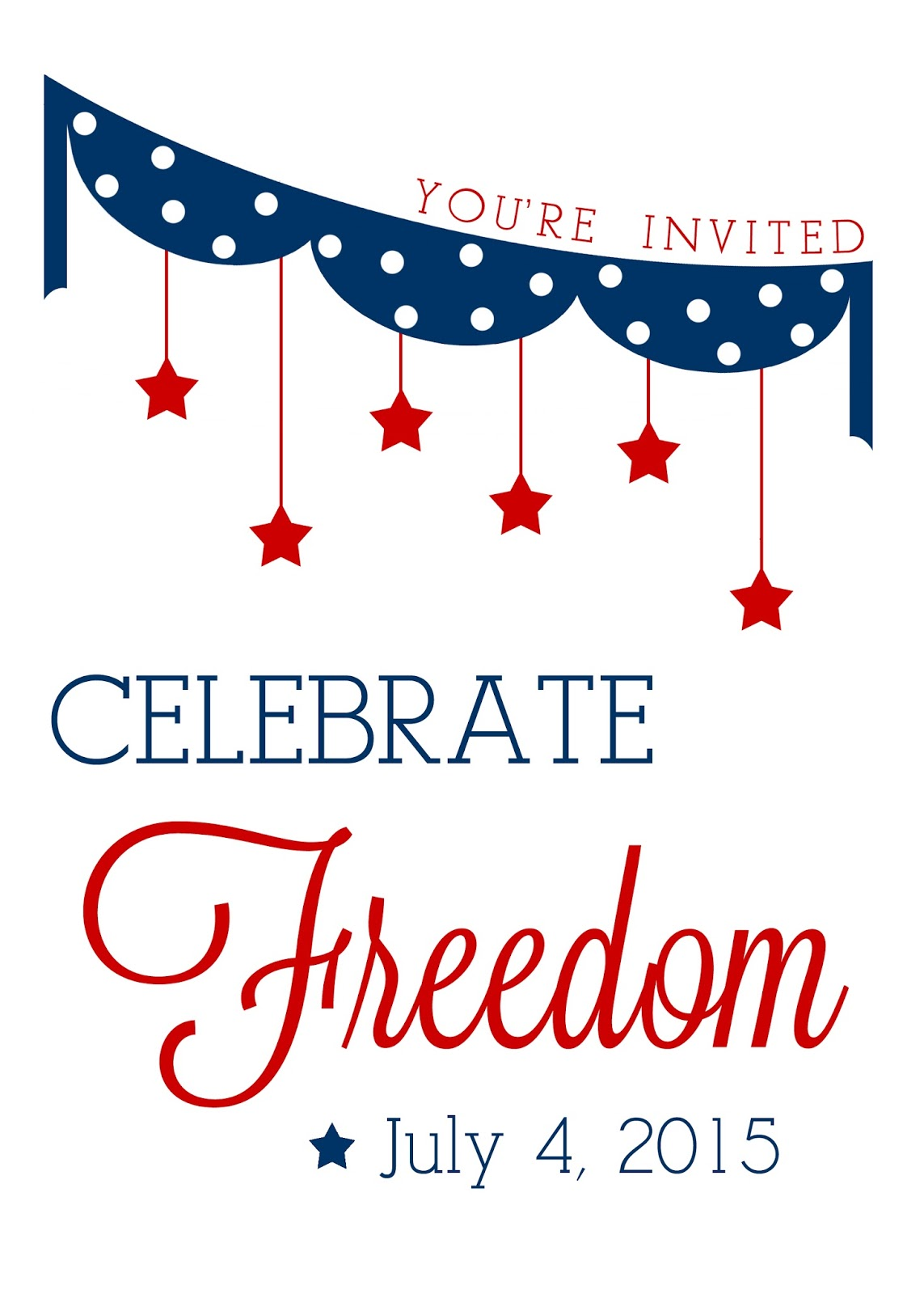 Creative Confetti 4th Of July Free Printables Updated