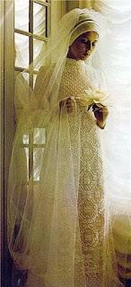 wzor na suknie slubna szydelkiem