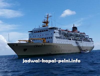 Jadwal Kapal Lawit Bulan Juni 2019