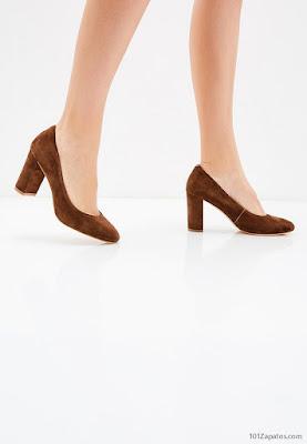 Zapatos de Mujer Marrones