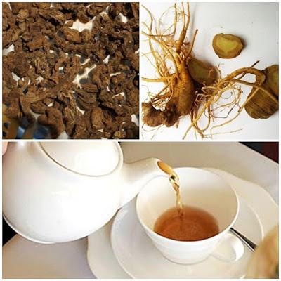 Có thể sử dụng sâm Ngọc Linh tươi hoặc khô để pha trà.