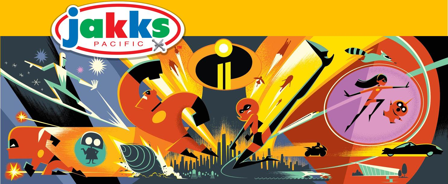 The Incredibles Toys R Us : Incredibles toys to be produced by jakks pacific