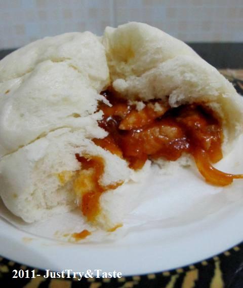 Obsesi Roti 9: Roti Kukus Isi Ayam Pedas & Bawang Bombay