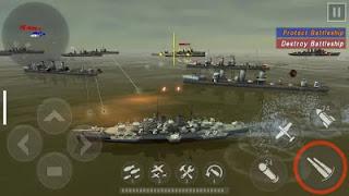 WARSHIP BATTLE : 3D World War II v2.1.2 Mod Apk (Free Shopping)