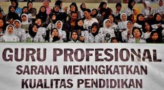 Mendikbud Muhadjir Efendi :Untuk Menjadikan Guru Semakin Profesional, Perlu Langkah Serius.