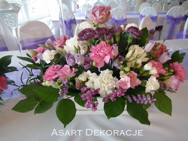 kwiaty ślubne