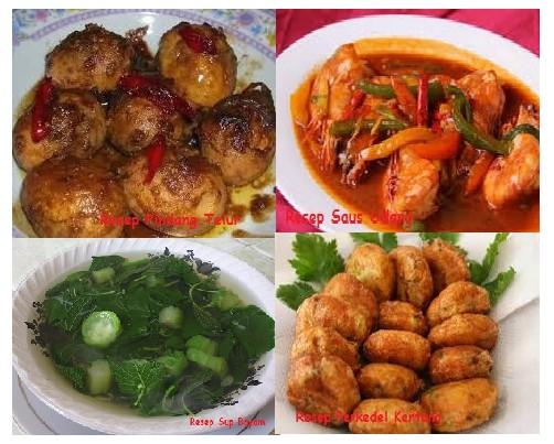 Resep Masakan Buka Puasa Dan Sahur