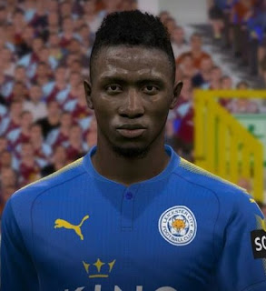 PES 2017 Faces Wilfred Ndidi by FaceEditor Jefferson_SF