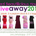 NORZI BEAUTILICIOUS HOUSE GIVEAWAY 2015